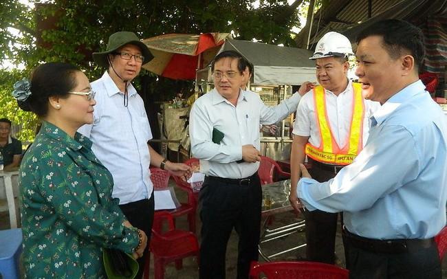 Tân Chủ tịch HĐND TPHCM kiểm tra dự án chống ngập 10.000 tỷ