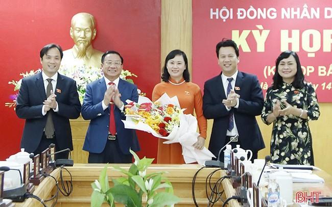 Hà Tĩnh có tân nữ Phó Chủ tịch HĐND tỉnh - ảnh 1