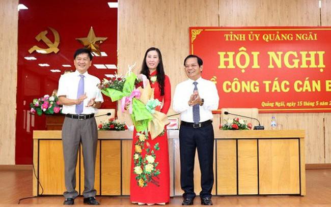 Bộ Chính trị chuẩn y chức danh Phó bí thư Tỉnh ủy Quảng Ngãi