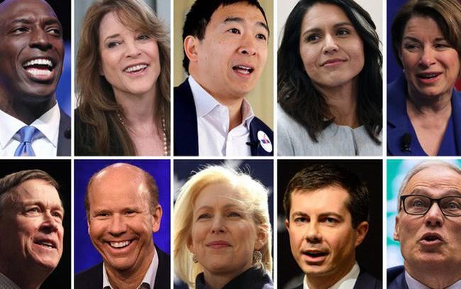 Số lượng ứng viên Dân chủ tranh cử tổng thống Mỹ năm 2020 nhiều kỷ lục