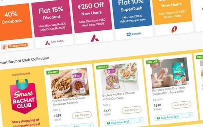 SoftBank tham gia rót vốn 200 triệu USD vào startup thực phẩm trực tuyến Ấn Độ