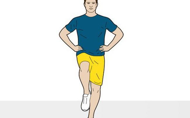 Đứng bằng một chân, nhắm mắt và đếm: Bài kiểm tra tuổi thọ cực đơn giản của Tiến sĩ Anh