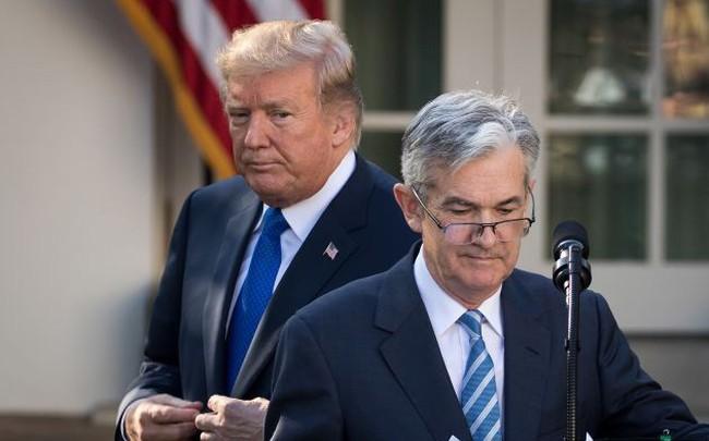 Tổng thống Trump: Tăng trưởng kinh tế Mỹ vượt 3%, chứng khoán tăng 10.000 điểm nếu Fed không nâng lãi suất