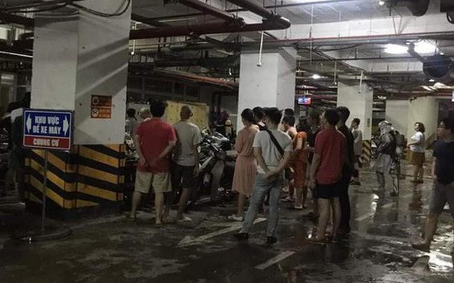 Hà Nội: Cháy tầng hầm chung cư cao cấp Hapulico, hàng trăm người hốt hoảng bỏ chạy