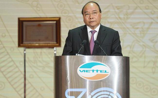 Thủ tướng: Viettel cần vươn lên sánh vai với Huawei, ZTE, Google, Facebook…