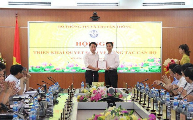 Ông Nguyễn Huy Dũng giữ chức Cục trưởng Cục An toàn thông tin