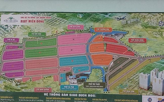 Ăn theo Dự án Sân bay Long Thành: Vẽ dự án 'ma' thu tiền tỷ - ảnh 1