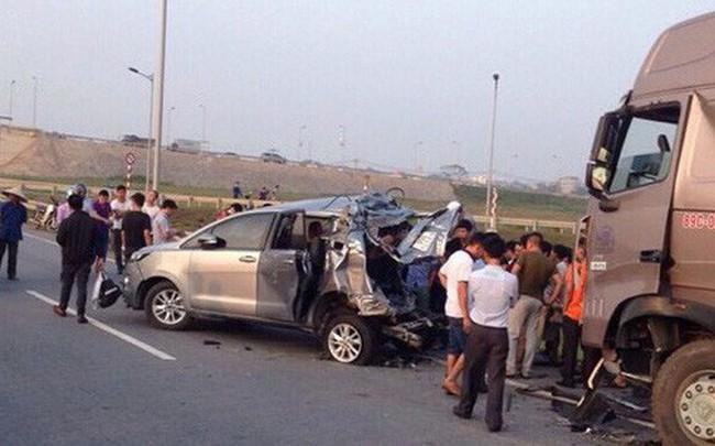 Vụ xe Innova đi lùi trên cao tốc: Kết luận điều tra mới khẳng định tài xế container có tội