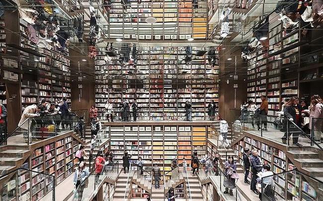 Ngắm kiến trúc nhà sách tuyệt đẹp nguy nga như cung điện