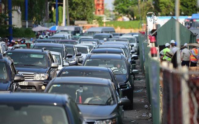 Đề xuất xây 34 cổng thu phí, 'siết' ôtô vào trung tâm Sài Gòn gây ùn tắc