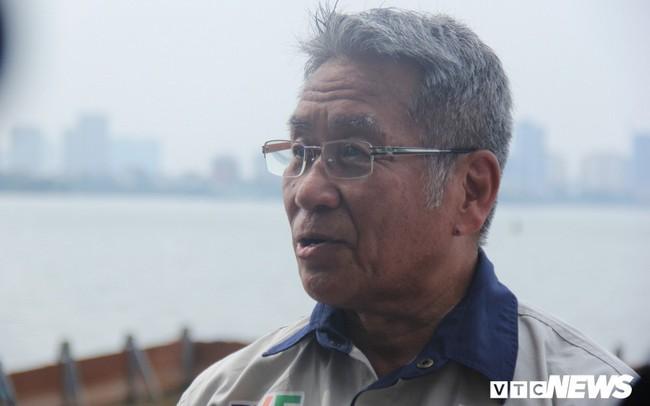 Hồ Tây tiếp tục xả nước ra sông Tô Lịch, chuyên gia Nhật Bản sẽ có biện pháp gì? - ảnh 1