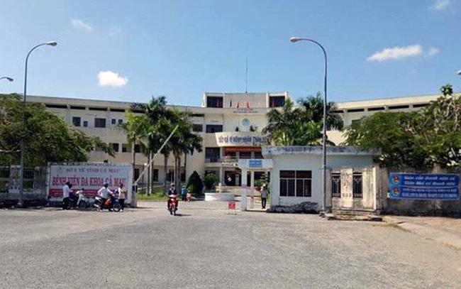 Nguyên Phó giám đốc bệnh viện tỉnh Cà Mau bị đuổi việc