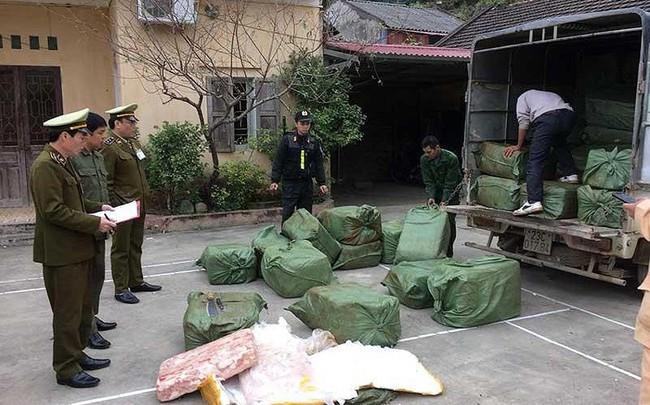 Lo Việt Nam thành bãi rác thịt heo, bò… bẩn