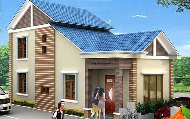 Mẫu nhà cấp 4 gác lửng mái Thái đẹp miễn chê chỉ 200- 300 triệu đồng