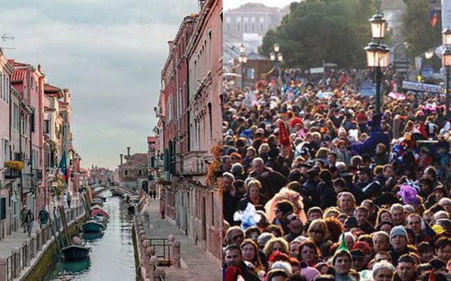 Chắc chỉ có Venice (Ý) mới có những điều luật lạ lùng như này, đến cả việc du khách… ngồi cũng cấm đoán