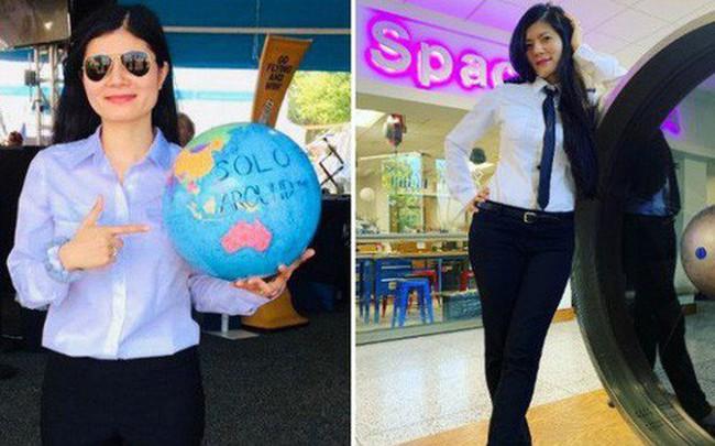 Lần đầu tiên trong lịch sử, Việt Nam sắp có một nữ phi công bay vòng quanh thế giới