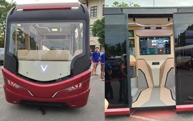 """Xuất hiện hình ảnh được cho là chiếc xe buýt của VinFast với thiết kế """"đến từ tương lai"""""""