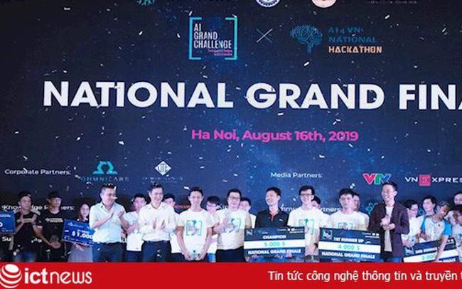Tổng đài ảo thông minh đạt giải nhất cuộc thi AI4VN National Hackathon - ảnh 1