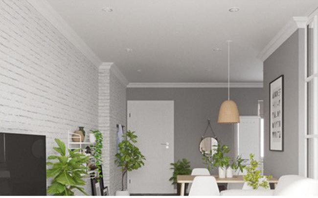 Ngắm căn hộ màu trắng đẹp tinh khôi