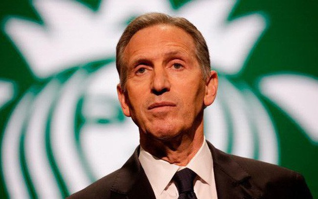 Cựu CEO Starbucks tuyên bố không ra tranh cử tổng thống Mỹ năm 2020
