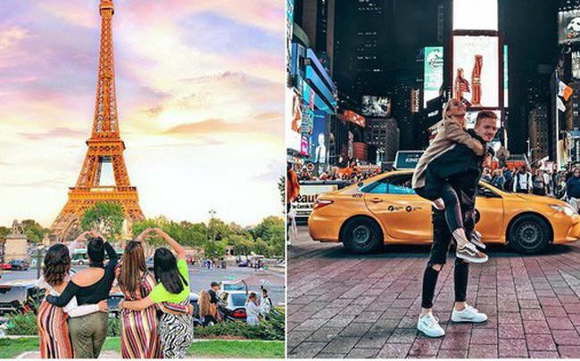 Những địa điểm được check-in nhiều nhất trên Instagram: Tháp Eiffel dẫn đầu với gần 6 triệu hashtag - a1
