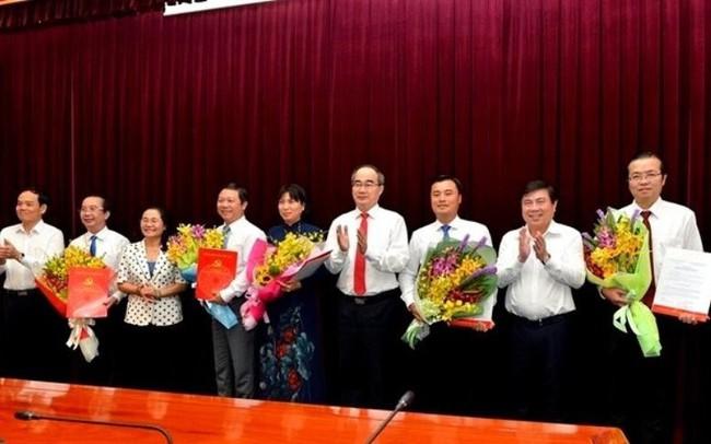 TP.HCM có thêm 5 Thành ủy viên - ảnh 1