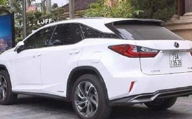 Lùm xùm cấp biển 'VIP' cho xe Lexus: Thanh tra Công an Thừa Thiên - Huế vào cuộc