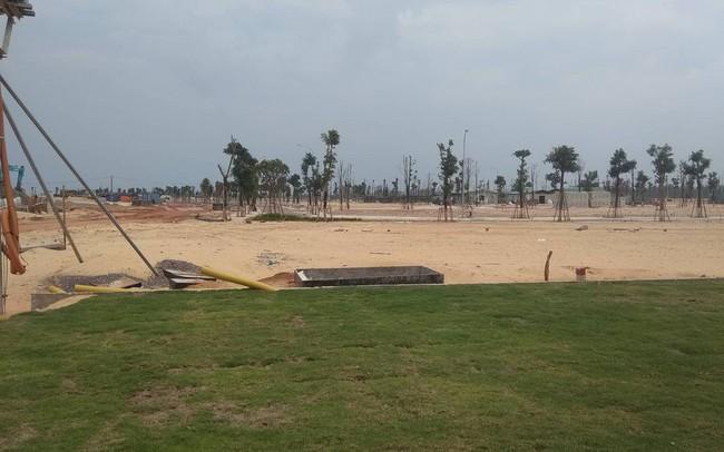 Dự án Nhơn Hội New City tiếp tục bị 'tuýt còi' chưa đủ điều kiện mở bán đất nền