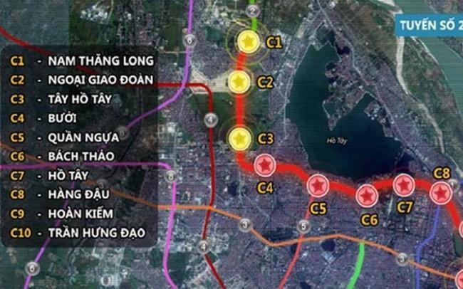 Báo cáo Quốc hội dự án đường sắt đô thị Nam Thăng Long - Trần Hưng Đạo