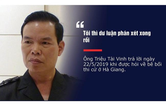 Những phát ngôn 'dậy sóng' của nguyên Bí thư Tỉnh ủy Hà Giang Triệu Tài Vinh