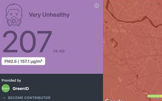 """Bị rate 1 sao tới tấp đến mức phải gỡ app tại Việt Nam, AirVisual vội lên tiếng đính chính: """"Hà Nội không phải là thành phố ô nhiễm nhất thế giới"""""""