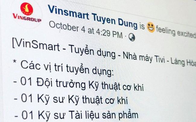Bằng chứng cho thấy người Việt sắp được sử dụng TV do Vingroup sản xuất