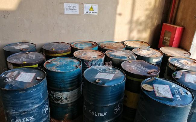 Bất ngờ quy trình công ty gốm sứ tuồn dầu thải gây ô nhiễm nước sông Đà