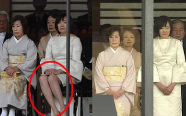 Phu nhân Thủ tướng Nhật Bản bỗng hứng búa rìu dư luận vì sai lầm nghiêm trọng trong lễ đăng quang của Nhật hoàng