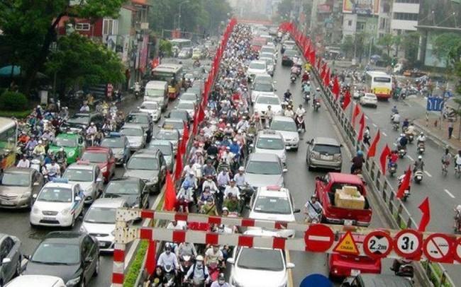 Hà Nội phân vùng xe máy và thu phí ô tô vào nội đô như thế nào?