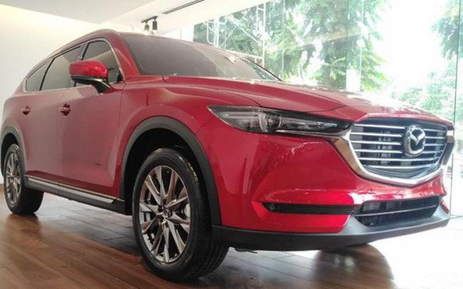Mazda CX-8 bất ngờ giảm giá, tăng sức cạnh tranh trước Hyundai Santa Fe - ảnh 1