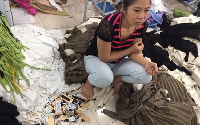 4 tấn quần áo cắt mác Tàu dán NEM,IFU: Chủ đi cấp cứu, vất vả tìm trụ sở NEM, IFU