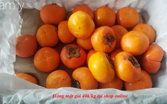 Mua online 40k/kg hồng mật tưởng giá hời, ai ngờ y chang hồng giòn 20k bán ngập chợ dân sinh