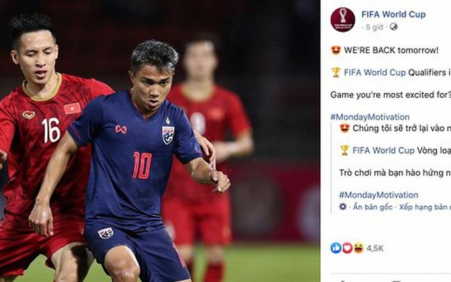 FIFA chọn Việt Nam vs Thái Lan là trận cầu tâm điểm thế giới