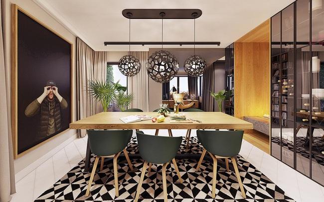 Chiêm ngưỡng căn hộ thiết kế ngẫu hứng đẹp cuốn hút