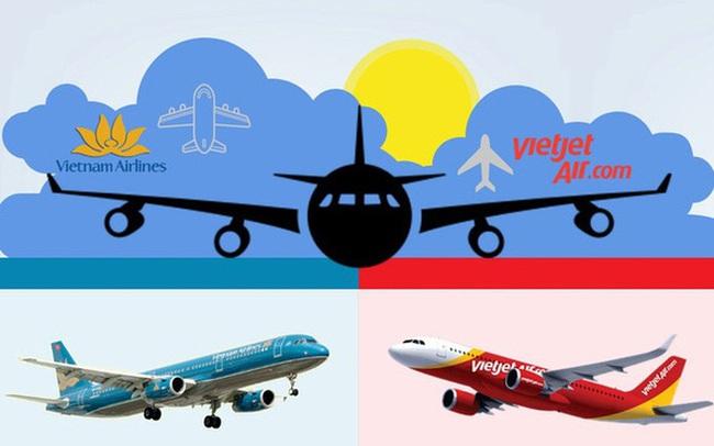 Lãnh đạo hai hãng hàng không lớn nhất Việt Nam tranh luận về bài toán tăng trưởng nóng