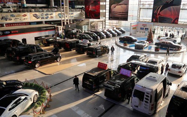 Thị trường ôtô Trung Quốc trước nguy cơ sụt giảm 3 năm liên tiếp