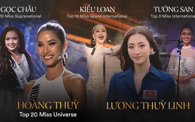 Nhan sắc Việt liên tục ghi dấu ấn trên bản đồ Quốc tế, Lương Thùy Linh có tạo nên kỳ tích tại Miss World ngày 14/12?