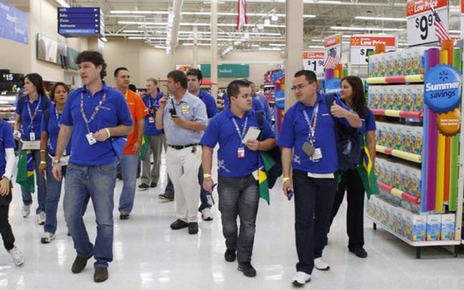 15 công ty đông nhân viên nhất thế giới, Walmart tiếp tục dẫn đầu