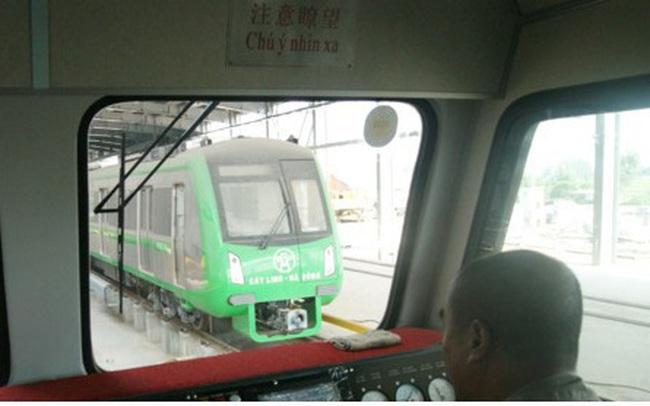 Đang nghiệm thu từng phần tuyến đường sắt Cát Linh - Hà Đông
