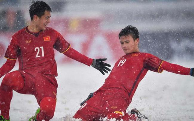"""Tranh cãi kết quả bình chọn siêu phẩm """"cầu vồng trong tuyết"""" của Quang Hải thắng giải Bàn thắng biểu tượng cho VCK U23 châu Á"""