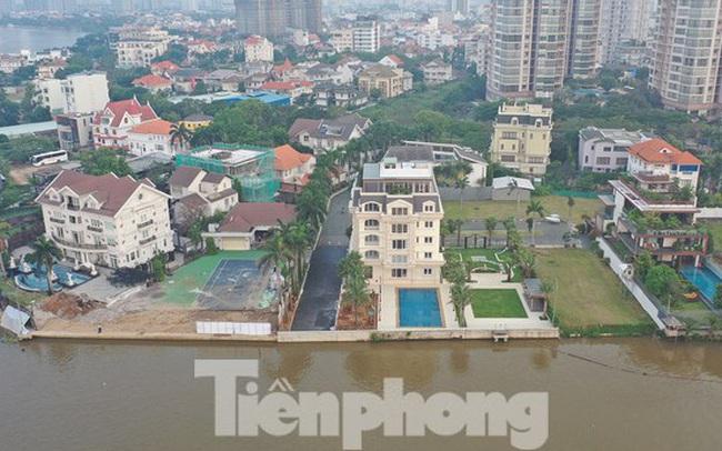 TPHCM 'điểm mặt' trên 100 dự án có dấu hiệu lấn sông Sài Gòn