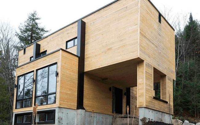 Bất ngờ với ngôi nhà tuyệt đẹp được thiết kế từ 4 chiếc container
