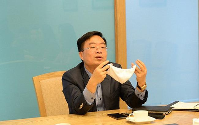 """Trước thông tin """"nổ"""" về tính năng kháng khuẩn của khẩu trang vải, đây là câu trả lời của Tổng giám đốc Vinatex"""