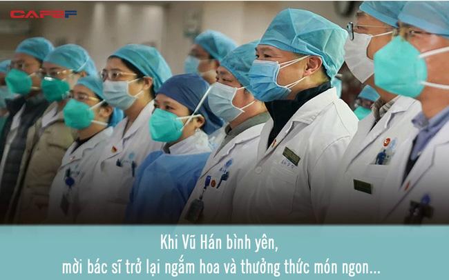 Lá thư xúc động của người dân gửi các y bác sĩ: Khi Vũ Hán bình yên, mời mọi người trở lại ngắm hoa, ăn đặc sản tôm hùm
